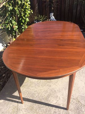 Vintage mid century modern walnut dining table for Sale in Vancouver, WA