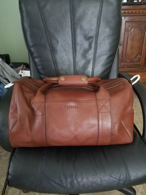 Large leather duffle bag for Sale in Creedmoor, TX