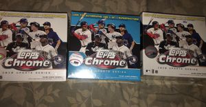 Topps MLB Chrome Updates Baseball Trading Card Mega Box for Sale in Garden Grove, CA