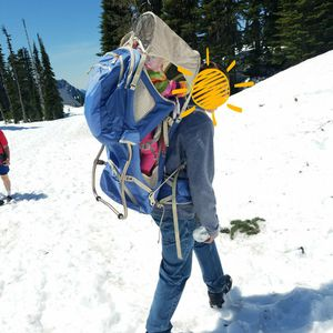 Light Blue Kelty Kids Child Carrier for Sale in Tacoma, WA