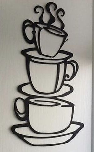 Coffee wall sticker for Sale in Pine River, MN