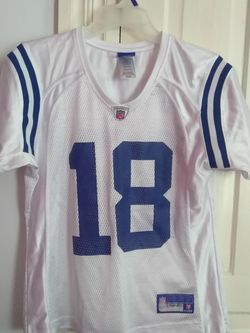 Reebok Shirts | Peyton Manning Indianapolis Colts Reebok Jersey | Color: Blue/White | Size: M for Sale in Burlington,  NC