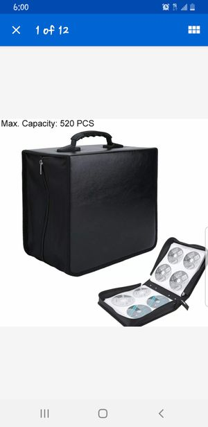 Cd or dvd storage case for Sale in Cleveland, OH