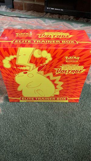 Pokemon Vivid Voltage Elite Trainer Box for Sale in Lake Forest Park, WA