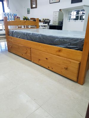 Twin bed with draws for Sale in Orlando, FL