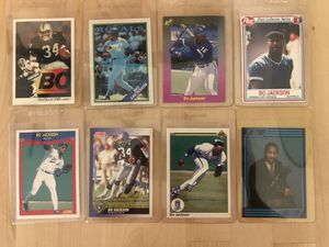 Bo Jackson vintage collectible cards for Sale in Los Angeles, CA