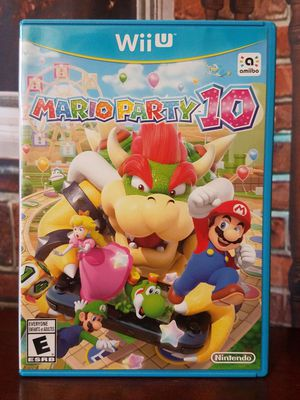 WiiU Mario Party 10 Nintendo Wii U Video Game for Sale in Tampa, FL