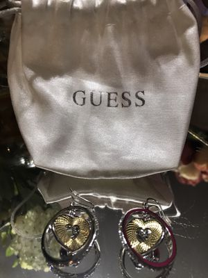 Gorgeous! Silver & Gold GUESS Earrings for Sale in Gainesville, VA