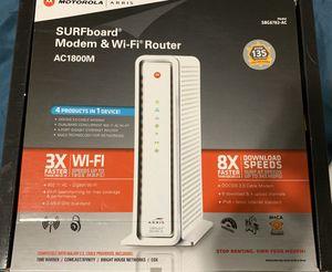 Modem & WiFi router— Motorola Surfboard Arris, gigabyte WiFi/internet for Sale in San Diego, CA