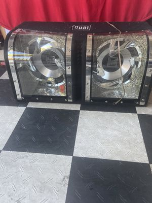 Dual speakers for Sale in Stockton, CA