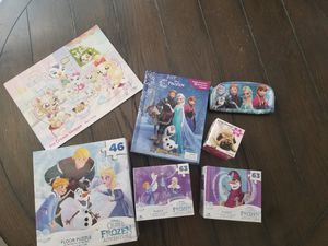 Elsa board game and puzzles for Sale in Glendale, AZ