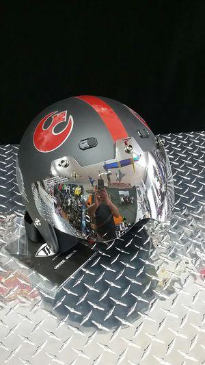 Star Wars helmet motorcycle open face helmet custom made for Sale in Los Angeles, CA