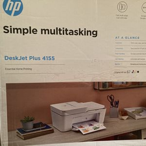 Hp desktop Printer/DeskJet 4155/ With 1 Extra Colored Ink Cartridge Included . Brand New for Sale in Levittown, PA