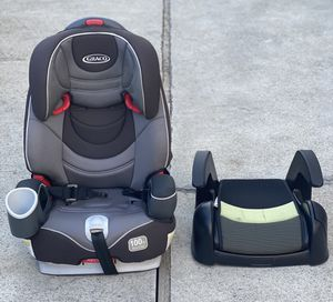 Graco booster child seat 100 lb Cosco booster child seat for Sale in San Jose, CA