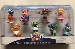 New Disney Junior Muppet Babies Collectible Figure Set Of 8 for Sale in Downers Grove, IL
