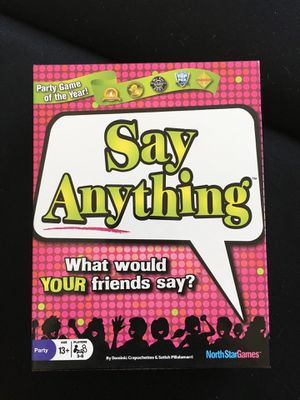 Say Anything board game for Sale in Boston, MA