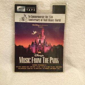 1996 Disney's Music For The Park Cassette New In Blister Pack Commemorate 25th Anniversary for Sale in Clermont, FL