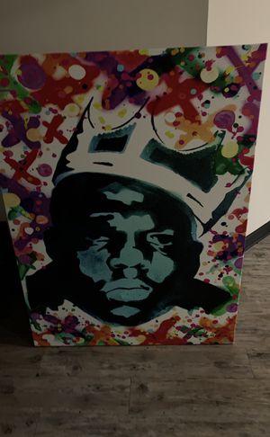 Notorious BIG painting for Sale in Atlanta, GA