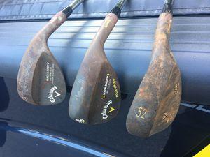 Raw finish golf wedges (Callaway/Mizuno) for Sale in Alexandria, VA