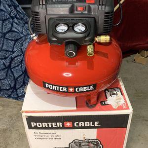 Porter Cable Compresor 6 Galones for Sale in Dallas, TX