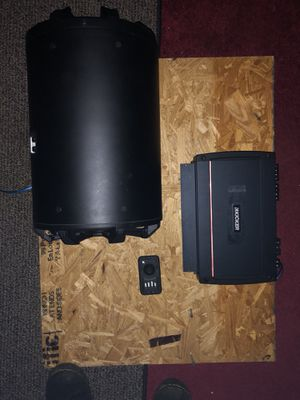 "Kicker 10"" 2 Ω TB Enclosure & KXA800.5 Amplifier for Sale in Tucker, GA"