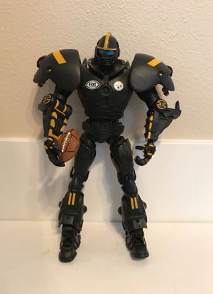 "Pittsburgh Steelers 10"" Team Cleatus Fox Robot Action Figure for Sale in Kirkland, WA"