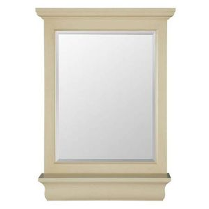 Wall Mirror with Shelf / Antique White / 23-1/2 in. W x 32 in. H x 4 in. D for Sale in Las Vegas, NV