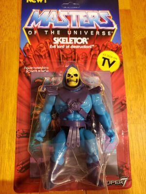 Masters of The Universe Super 7 Skeletor figure for Sale in Phoenix, AZ