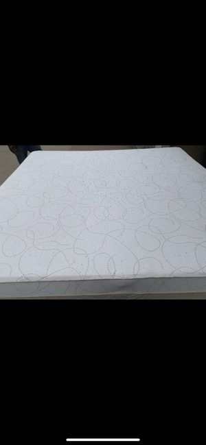 King size tempurpedic mattress and box spring for Sale in Wichita, KS