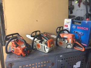 Only 2 Stihl Gas Chainsaws left! $265 and $275 for Sale in Hialeah, FL