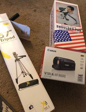 Video Camera and Accessories for Sale in Salisbury, MD