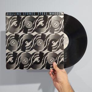 ROLLING STONES Steel Wheels Vinyl Record LP for Sale in El Monte, CA