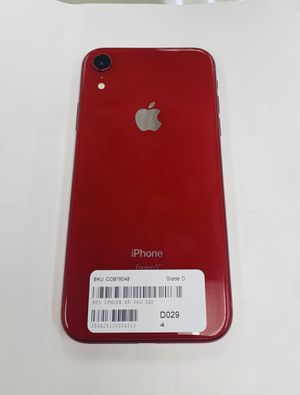 apple iphone XR , 64 gb unlocked with store warranty and receipt for Sale in Somerville, MA