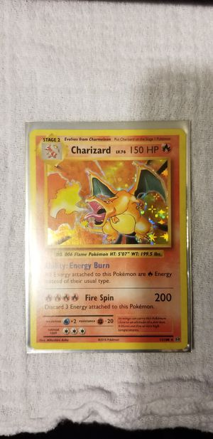 Holographic Charizard for Sale in Cleveland, TX