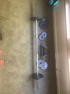 10 different Weights for muscles building for Sale in Grand Prairie, TX