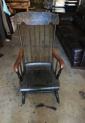 Vintage Black Rocker-Cool Piece-Little Haiti Warehouse Liquidation-Bryce LeVan Cushing Liquidator for Sale in Miami, FL