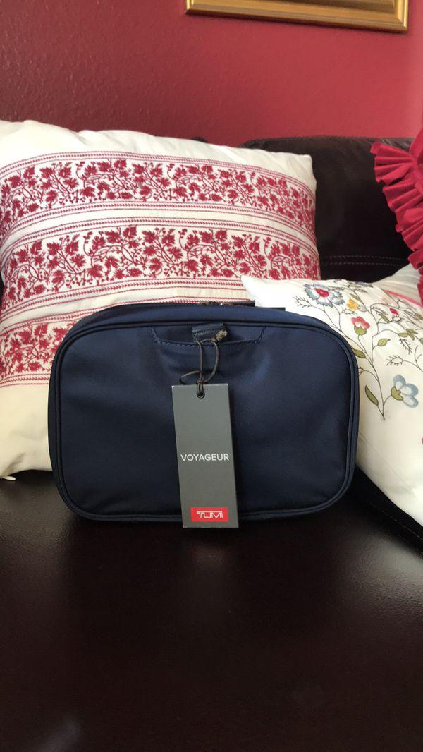 Tumi cosmetics bag new with tag