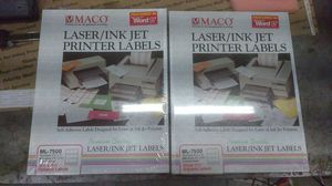 "Vintage sealed macon ml-7500 3.5"" diskette labels for Sale in Vancouver, WA"