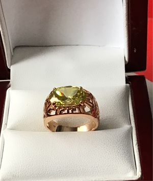 Shipping only 14kgold plated ring size 6 for Sale in Los Angeles, CA
