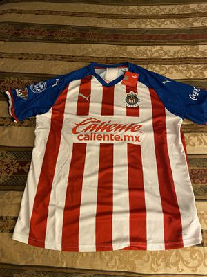 Chivas jersey with chofis name and number size is xl new with tags for Sale in Perris, CA