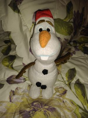 Olaf Christmas plushie for Sale in Colton, CA