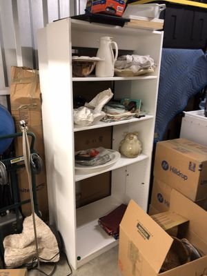 2 White Book shelves for Sale in Raleigh, NC