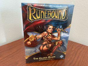 RUNEBOUND 3rd ED GILDED BLADE Board Game Expansion (Fantasy Flight Games) -BRAND NEW in SHRINK! for Sale in Las Vegas, NV