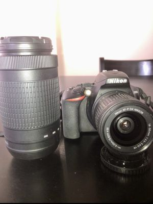 Nikon d3500 w/ 2 Lenses and TONS of Accessories for Sale in Boise, ID