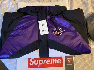 Supreme x Nike Hoodie Sport Jacket for Sale in Brooklyn, NY