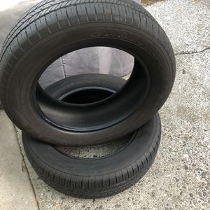 2 Yokohama tires 225/60R17 in good condition Give Me Offers for Sale in Redmond, WA
