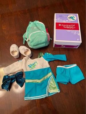 American girl doll Cheer cheerleader set. New for Sale in Mokena, IL