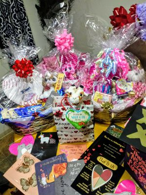 Valentines day gift baskets for Sale in Eugene, OR