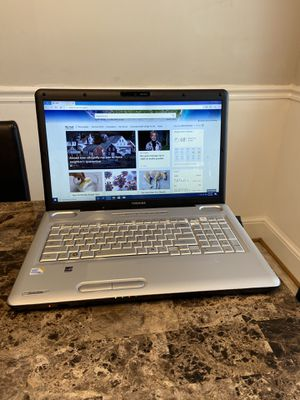 Toshiba Laptop Windows 10 Microsoft Office 2016 Great For School for Sale in Burlington, NC