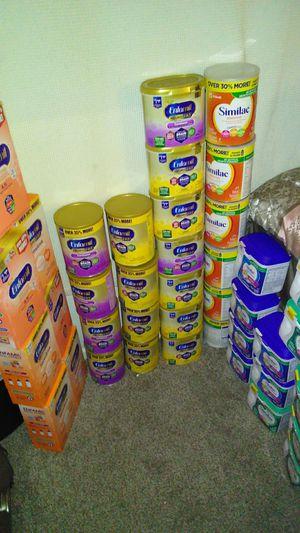 Sensitive neuro pro enfamil. A. R enfamil. Purple enfamil. Yellow enfamil. Similac for Sale in Dallas, TX